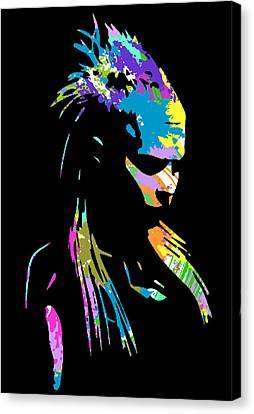 zef 2014 Yolandi Canvas Print by Jera Sky