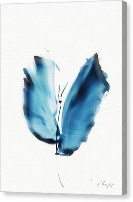 Zen Butterfly Canvas Print by Frank Bright