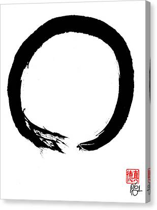 Zen Circle Four Canvas Print