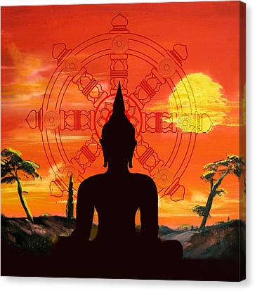 Zen Canvas Print by Corporate Art Task Force
