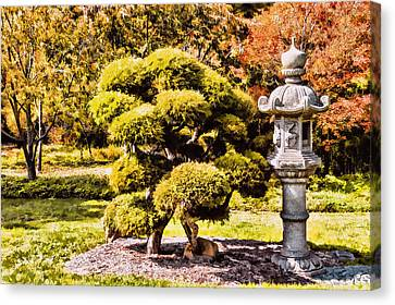 Canvas Print featuring the photograph Zen Garden by Anthony Citro