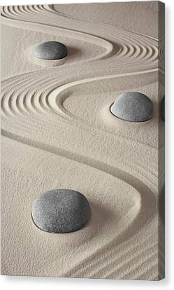 Zen Garden Canvas Print by Dirk Ercken