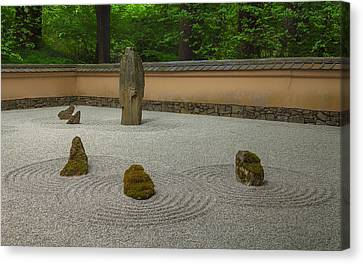 Canvas Print featuring the photograph Zen by Jacqui Boonstra