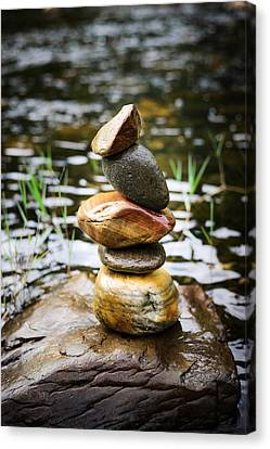 Zen River I Canvas Print by Marco Oliveira