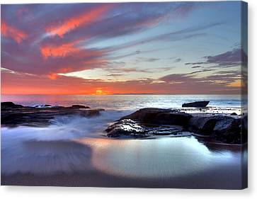 Zen Set Canvas Print