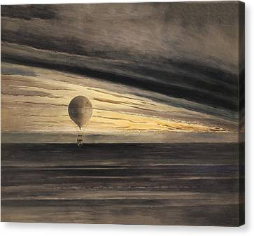 Zenith At Sunrise Canvas Print by Bill Cannon