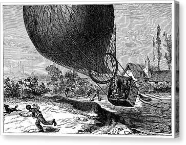 'zenith' Balloon Crash Canvas Print