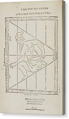 Zepheo Star Constellation Canvas Print by British Library