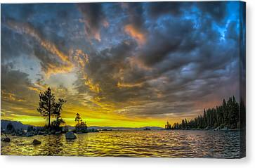 Zephyr Cove Canvas Print by Sean Foster