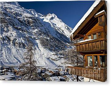Zermatt Canvas Print by Brian Jannsen