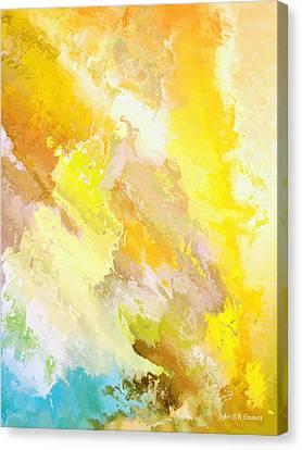 Zeus Olympios Canvas Print