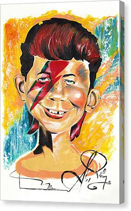 Zigg-e. Newman Canvas Print by Alex Rodriguez