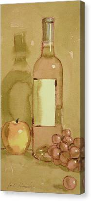 Zinfandel Two Canvas Print