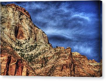 Zion Face 695 Canvas Print by Jerry Sodorff