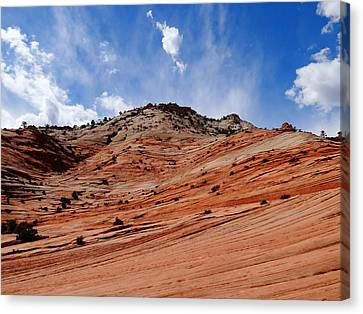 Zion National Park Canvas Print by Dan Sproul