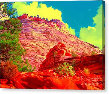 Zion Rising Canvas Print