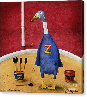Zippo...the Fire Eater... Canvas Print by Will Bullas