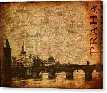 Zlata Praha Canvas Print by Alla Albert