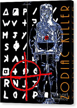 Zodiac Killer 20140912poster Canvas Print by Wingsdomain Art and Photography