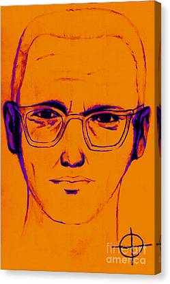 Zodiac Killer With Sign 20130213m98 Canvas Print by Wingsdomain Art and Photography