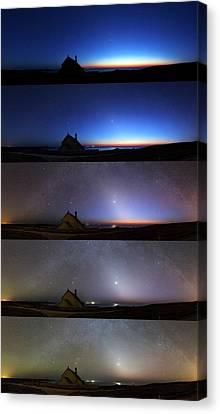 Zodiacal Light Canvas Print by Laurent Laveder