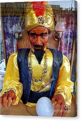 Canvas Print featuring the photograph Zoltar by Ed Weidman