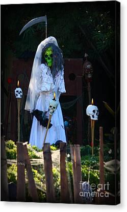 Zombie Bride Canvas Print by Patrick Witz