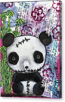 Zombiemania 2 Canvas Print