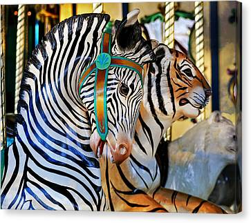 Zoo Animals 2 Canvas Print by Marty Koch