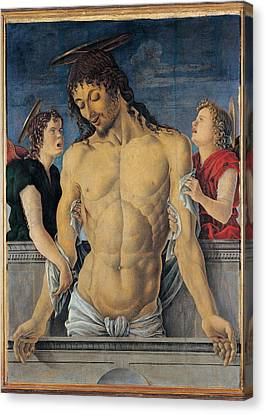 Zoppo Marco, Dead Christ Supported Canvas Print by Everett