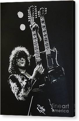 Jimmy Page Canvas Print - Zoso by ID Goodall