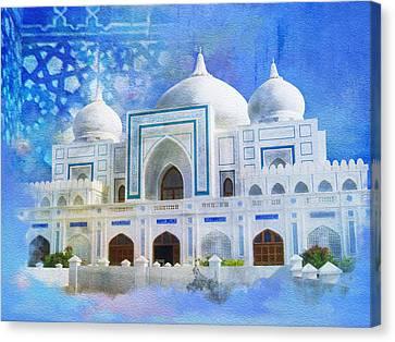 Zulfiqar Ali Bhutto Canvas Print by Catf