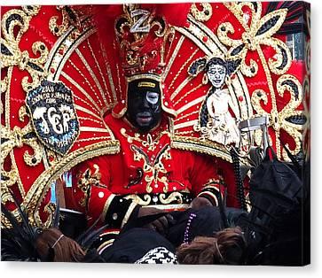 Zulu Mardi Gras Canvas Print by Steve Archbold