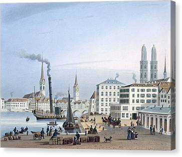Zurich Canvas Print by Swiss School