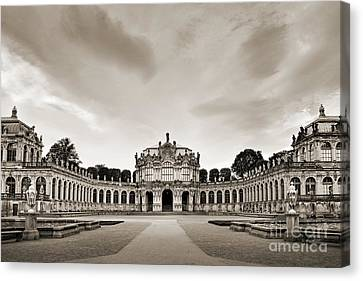 Zwinger Palace Canvas Print by Delphimages Photo Creations