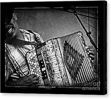 Zydeco Canvas Print by Jeanne  Woods