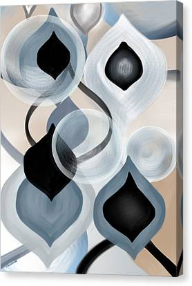 Zync Canvas Print by Christine Fournier