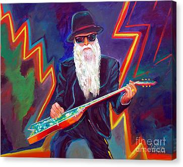 Zz Top 3 Canvas Print by To-Tam Gerwe