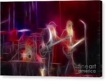 Zz Top-rhythmeen-c23-fractal-4 Canvas Print by Gary Gingrich Galleries