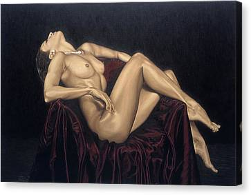 Exquisite Canvas Print by Richard Young