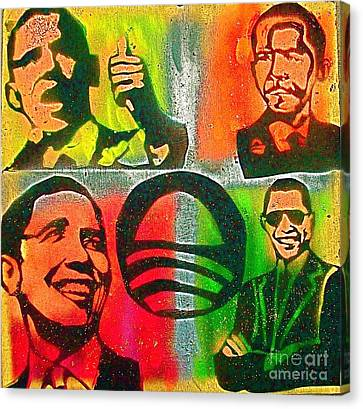 4 Barack  Canvas Print by Tony B Conscious