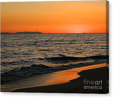 Canvas Print featuring the photograph  75 Degrees by Everette McMahan jr