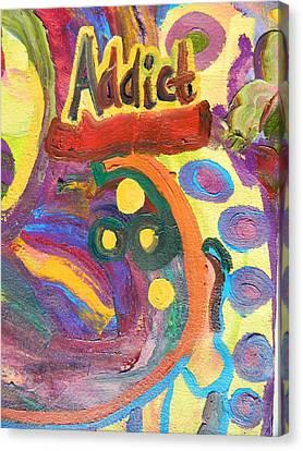Addict Canvas Print