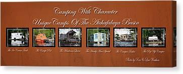 Camps Of The Atchafalaya Basin Canvas Print