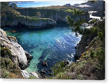 China Cove Canvas Print by Mike Herdering