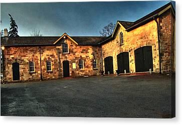 Dundurn Castle Coach House Canvas Print by Larry Simanzik