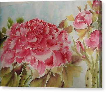 Flower0728-3 Canvas Print by Dongling Sun