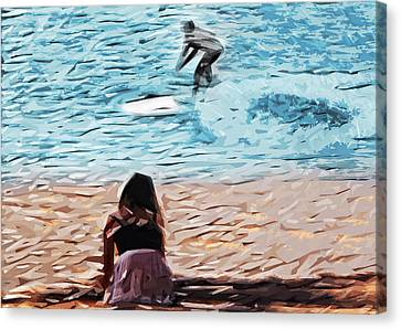 Freedom Canvas Print by Tilly Williams