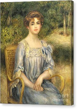 Madame Gaston Bernheim De Villers  Canvas Print