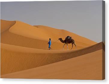 Merzouga, Morocco Canvas Print